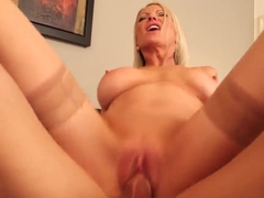 Milf Emma Starr rides on Johnny Castle