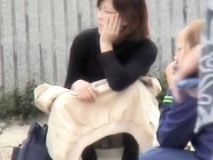 Candid Asian babes long legs and panty great upskirts DBAD-01