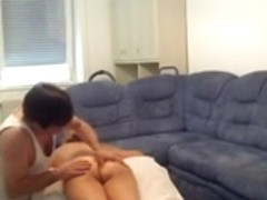 Hidden massage with happy end for PAWG