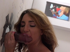 Big Black Cock For Savannah Fox At The Famous Glory Hole