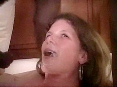 Shared wife enjoys two doses of chocolate thunder