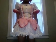 Madoka Cosplay Strip