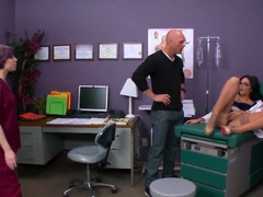 Amber Cox is a sex doctor for Johnny Sins