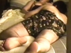 Wife in catsuit fucking on hidden camera