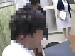 Great spy cam view of amateur pussy under medical exam
