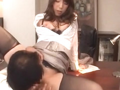 Fabulous Japanese slut Yui Fujishima in Horny Stockings/Pansuto, Cunnilingus JAV video