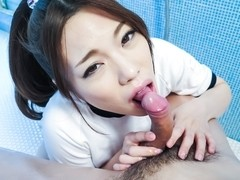 Hottest Japanese whore Emi Sasaki in Fabulous JAV uncensored Blowjob scene