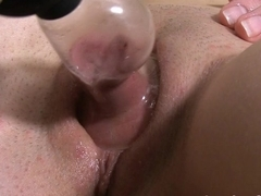 Zealous anal and pussy play