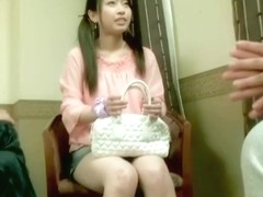 Slutty Jap gets crammed in Japanese hardcore video