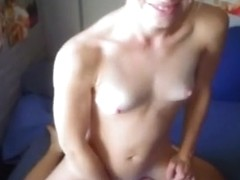 My cock jumed automatically in her mouth!