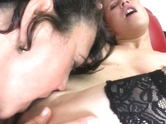 Sexy grandma and mother I'd like to fuck in old n juvenile trio