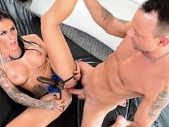 Austin Lynn & Kurt Lockwood in Big Tit Strap Video