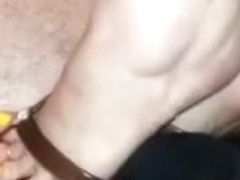 Foot fetish homemade solo clip with my wife demonstrating her feet
