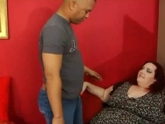 ssbbw copulates a miniature fella