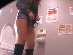 Japanese pissing and hardcore sex on hidden camera video