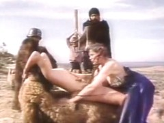 Incredible lesbian classic scene with Indian Maiden and Mike Ranger
