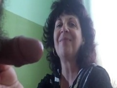 Russian mature mature and her neighbor