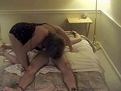 MILF tied me down for a blowjob