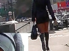 Steamy and highly hot upskirt movie