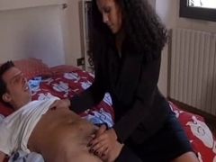Italian euro sex movie with professional cunnilingus