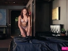 Hot lesbians Ariana Marie and Whitney Westgate loves licking pussy