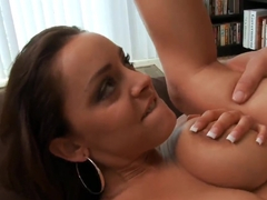 Hardcore fuck with Christian and passionate brunette named Liza del Sierra