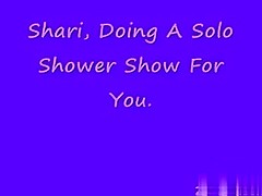 Shari, doing some other hot shower show.