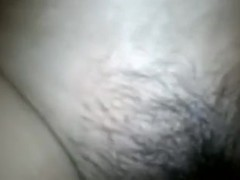 My overweight wifey receives her bushy poontang fucked tough