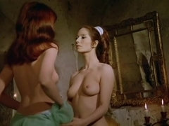 Mireille Saunin,Regine Motte in Girl Slaves Of Morgana Le Fay (1971)
