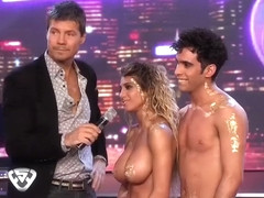 Thrilling erotic performance with the hottest couple