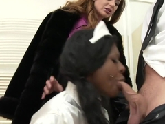 Exotic pornstars Josy Black and Cathy Heaven in hottest tattoos, cumshots xxx clip