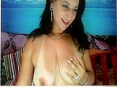 Romanian Milf getting naked