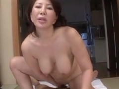 Wako Anto hot mature Asian babe in position 69