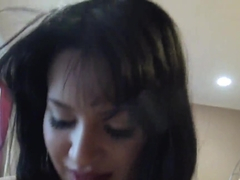 Whore Chloe Caine gievs head and rides cock in pov
