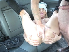 Aubrey Black & John in Mature busty MILF empties big balls - FakeTaxi