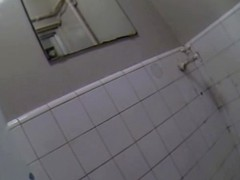 Jap babe in toilet caught in spy cam pissing video