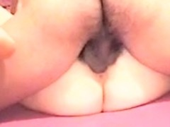 Bushy dilettante wife authentic close up doggy