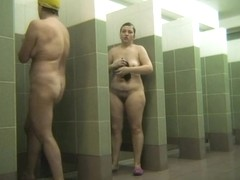 Hot Russian Shower Room Voyeur Video  35