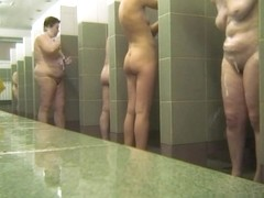 Hot Russian Shower Room Voyeur Video  33