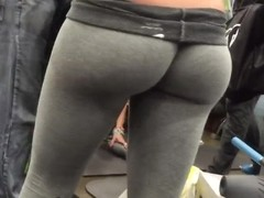 Tight ass in leggings part 2