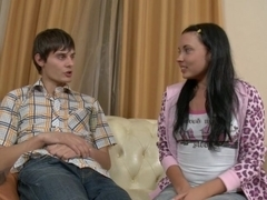 Juliett in hardcore video with a beautiful sex girl and a fucker