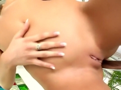 Amazing pornstar Lily Love in fabulous brunette, small tits sex clip