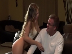 Exotic pornstar Sydney Cole in horny facial, small tits adult movie