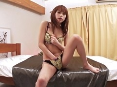 Exotic Japanese chick Miina Yoshihara in Horny JAV uncensored Hairy clip