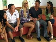 Christina Mour, Tasha Reign and Jennifer Dark