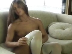 Hottest Amateur record with Small Tits, Solo scenes