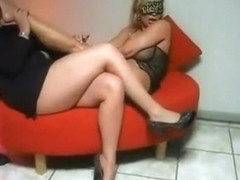 Incredible amateur shemale clip with Fetish, Stockings scenes