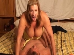 obese housewife sucks and copulates