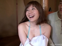 Yuma Asami gets shared in a staggering treesome show