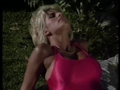 Blond lifeguard with excellent zeppelins acquires her cookie tasted and drilled